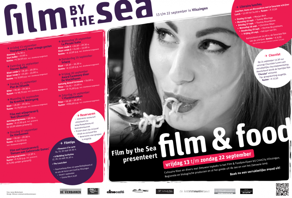 Film by the Sea: Film & Food programma